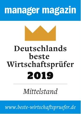 KMZ-Deutschlands beste Wirtschaftsprüfer 2019 Award